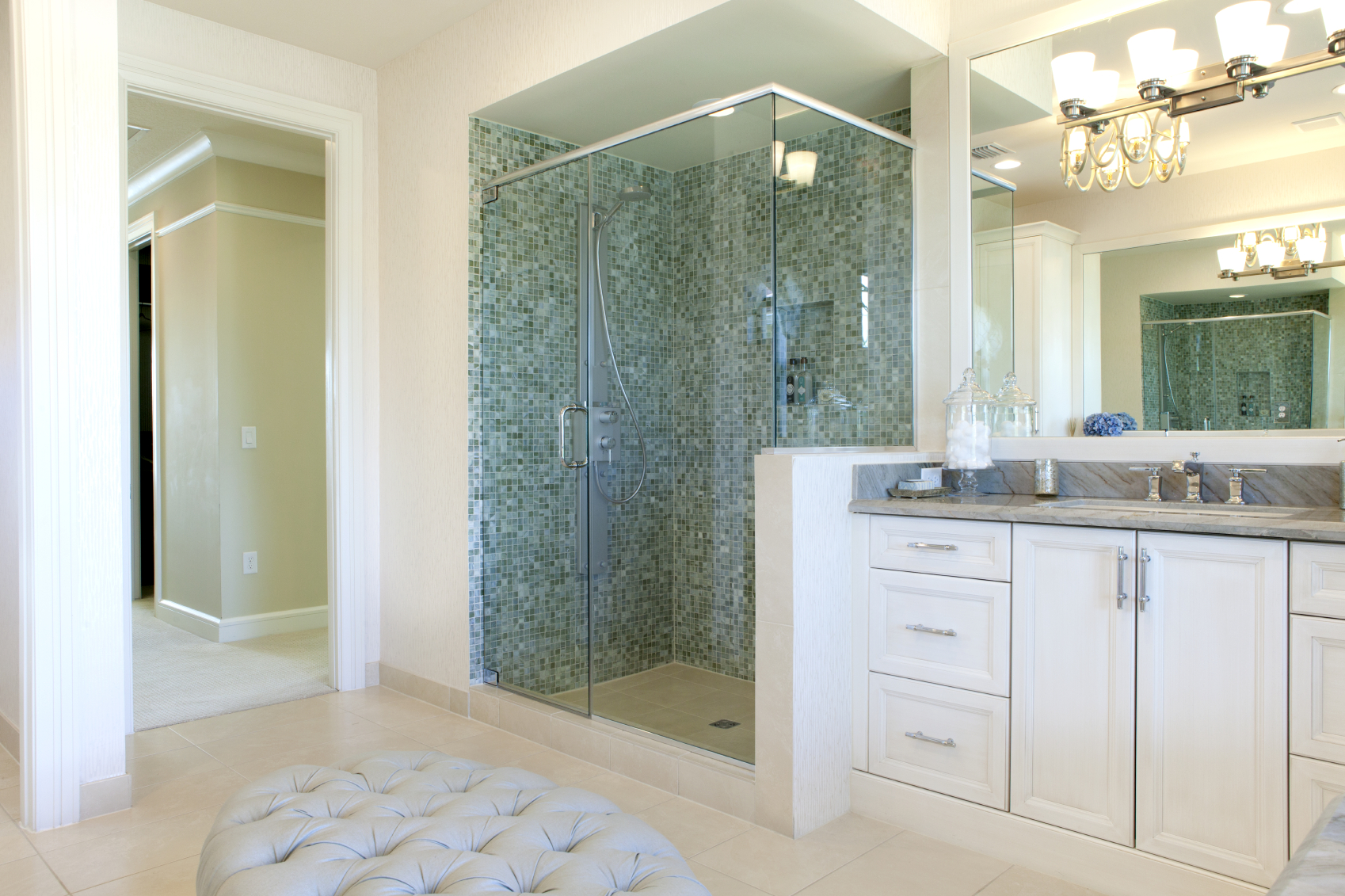 Shower Replacement Cost Surdus Remodeling - Bathroom shower replacement cost